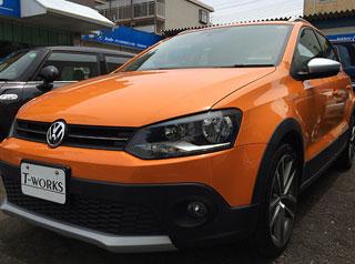 2010y VW CROSS POLO
