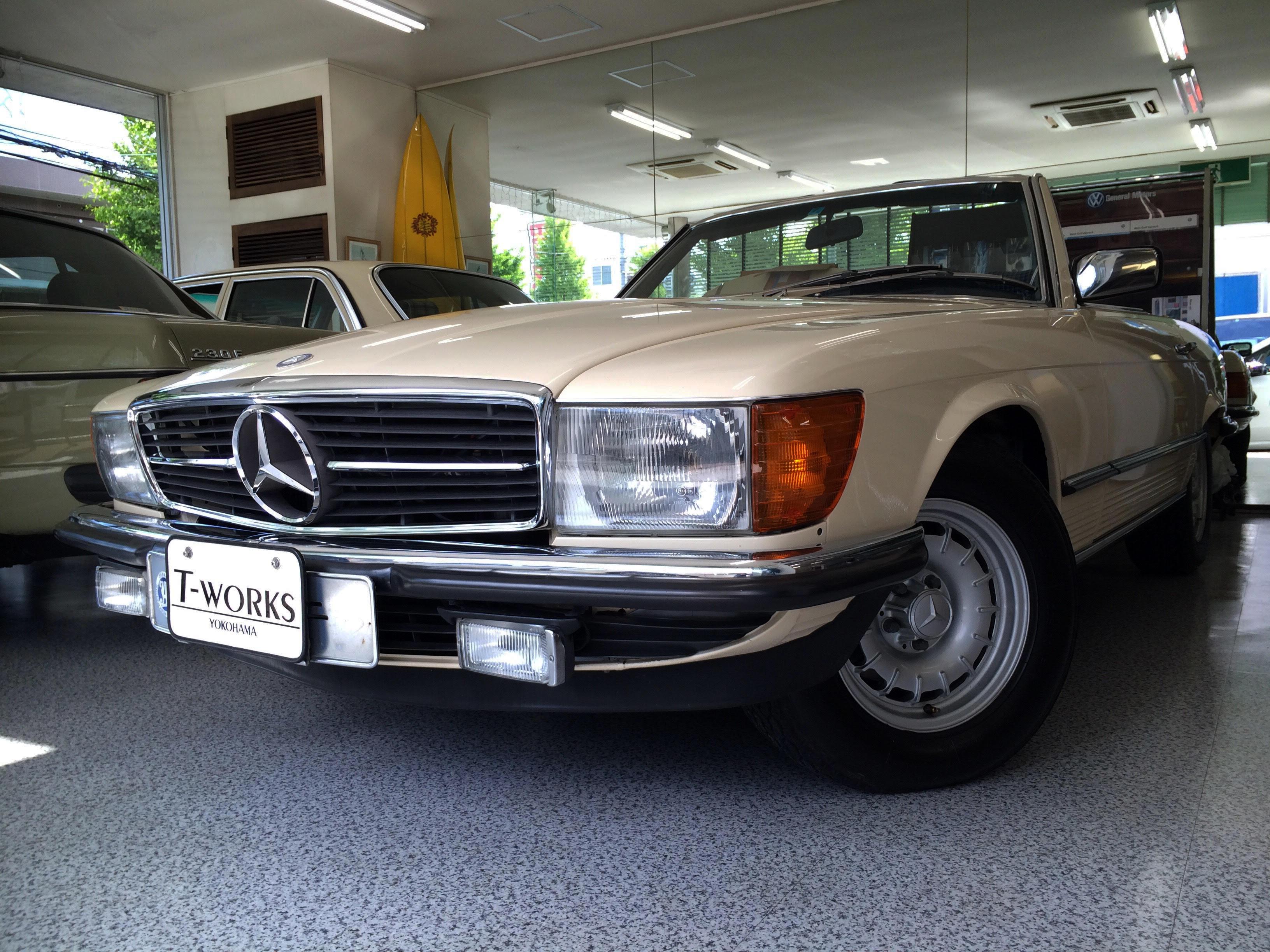 1983y M.BENZ 380SL
